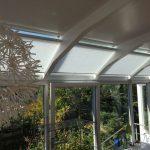 Plissee Sondermodelle für Wintergarten